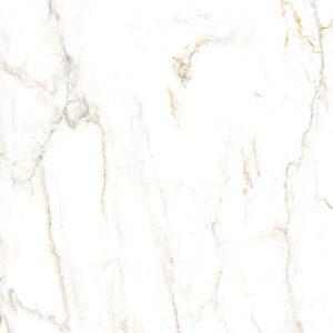 Płytka podłogowa Ceramica Limone Inferno Bianco Poler 119,7x119,7 cm