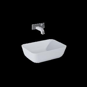 Umywalka nablatowa Elita Reni 46x33 ceram stone mat 145096