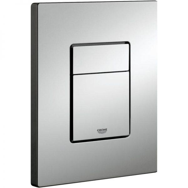 Zdjęcie Stelaż Grohe Rapid SL do WC ściennego 38536001 + Przycisk Grohe Skate Cosmopolitan chrom 38732000