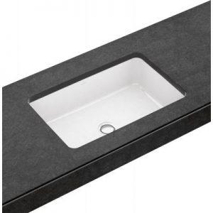 Umywalka podblatowa prostokątna Villeroy & Boch Architectura 54x34 cm weiss alpin 41776001