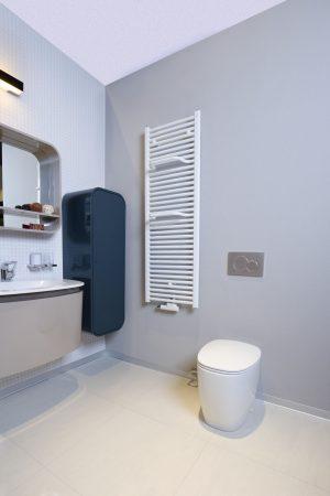 Grzejnik łazienkowy Zehnder Virando Bar biały 50x78,6 cm ABH-080-050-05/ RAL 9016