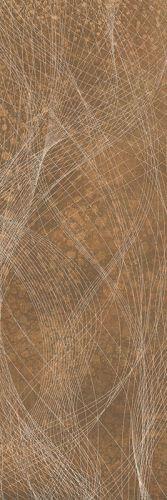Płytka ścienna Paradyż Freedom Rust Ściana Rekt. Dekor 25 x 75 cm S-R-250X750-1-FRED.RUDE