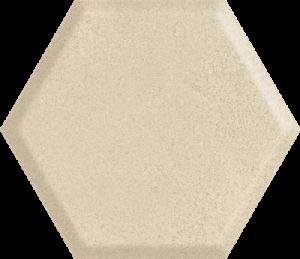 Płytka ścienna Paradyż Serene Beige Heksagon Struktura Ściana 19.8 x 17.1 cm SS—198X171-1-SERE.BE