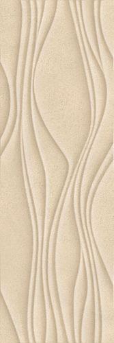 Płytka ścienna Paradyż Serene Beige Ściana Struktura Rekt. 25 x 75 cm SSR-250X750-1-SERE.BE