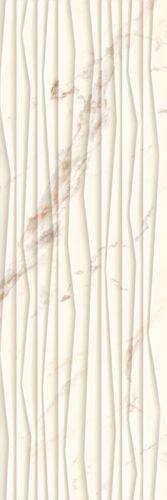 Płytka ścienna Paradyż Serene Bianco Ściana Struktura Rekt. 25 x 75 cm SSR-250X750-1-SERE.BI