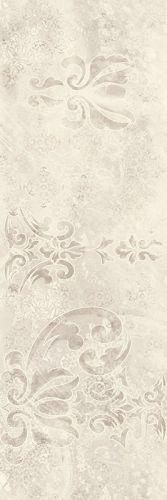 Płytka ścienna Paradyż Silence Silver Ściana Carpet Dekor Rekt. Połysk 25 x 75 cm S-R-250X750-1-SILE.SICA
