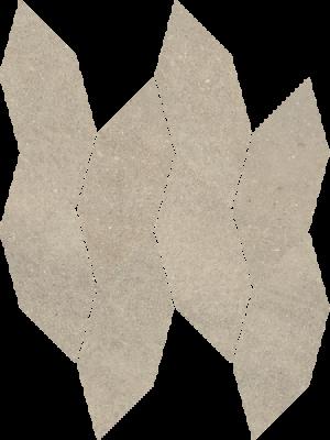 Płytka dekoracyjna Paradyż Smoothstone Bianco Mozaika Cięta Satyna 22.3 x 29.8 cm MWC-223X298-1-SMST.BI