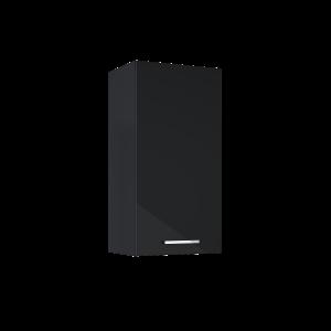 Szafka wisząca Kwadro Plus 40 1D (31,6) black HG 167657