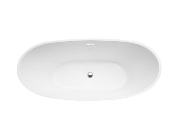 Wanna wolnostojąca Besco Ayla 170x80 cm biały WAS-170-A