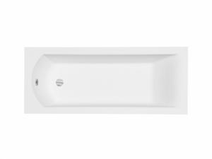 Wanna prostokątna Besco Shea Slim 140x70 cm biały WAS-140-SL