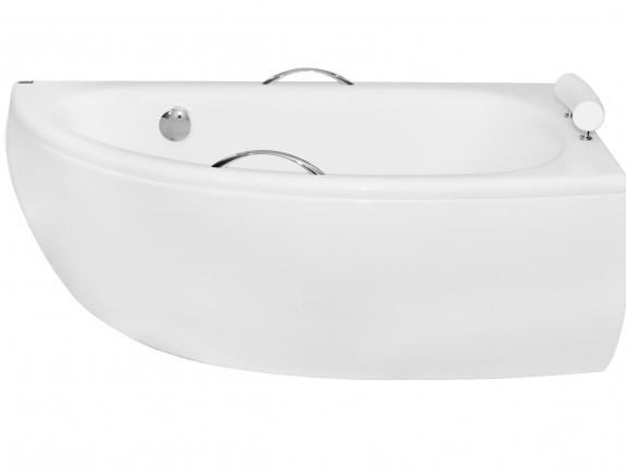 Obudowa do wanny asymetryczna prawa Besco Milena Premium 150x70 cm biały OAM-150-NL