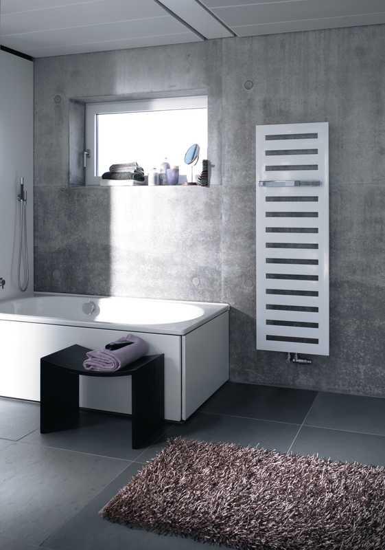 Zdjęcie Grzejnik łazienkowy Zehnder Metropolitan Bar biały 50×154 cm MEP-150-050/ RAL 9016