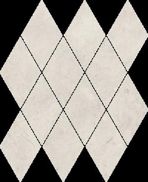 Mozaika prasowana Paradyż Afternoon Silver Romb Pillow 20.6x23.7 cm M-P-206X237-1-AFTE.SIPIL
