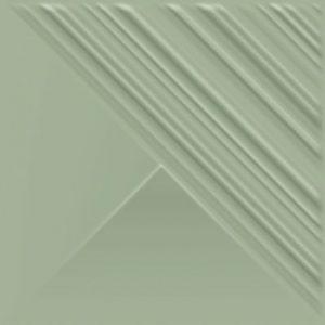 Płytka ścienna Paradyż Feelings Green Ściana Struktura Połysk 19.8 x 19.8 cm SS—198X198-1-FEES.GN