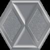 Zdjęcie Płytka dekoracyjna Paradyż Morning Silver Heksagon Inserto Połysk 19.8 x 17.1 cm I—198X171-1-MORN.SI