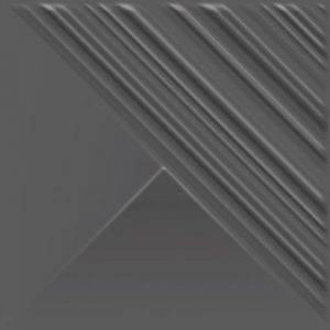 Płytka ścienna Paradyż Ray Grafit Struktura Mat 19,8x19,8 cm SS—198X198-1-RAY-.GT