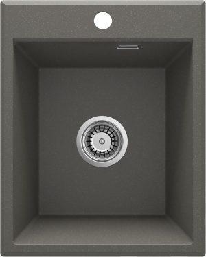 Deante Eridan Zlewozmywak granitowy 1-komorowy bez ociekacza - antracyt ZQE_T104