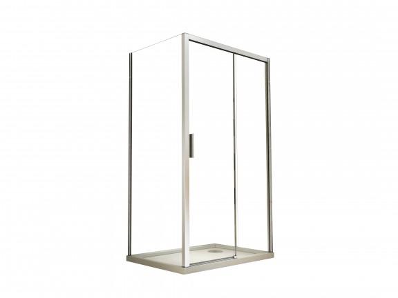 Panel boczny przejrzyste szkło Besco Actis 80x195 cm PA-80