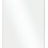 Zdjęcie Kabina prysznicowa Walk-In przejrzyste szkło Besco Aveo Due Black 120×195 cm ADB-120-195C