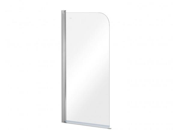 Parawan nawannowy 1-skrzydłowy przejrzyste szkło Besco Prime 1 70x140 cm PNP-1S