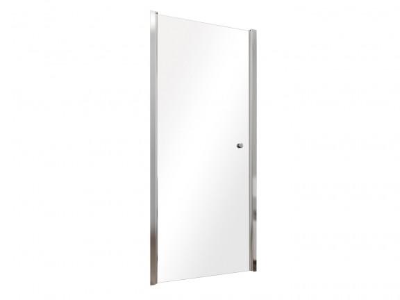 Drzwi prysznicowe przejrzyste szkło Besco Sinco 80x195 cm DS-80