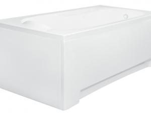 Obudowa do wanny prostokątna Besco Bona 170x70 cm biały OAP-170-UNI