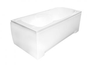 Obudowa do wanny prostokątna Besco Majka Nova 120x70 cm biały OAP-120-UNI