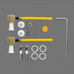 Zestaw montażowy do WC i bidetów Simas F85