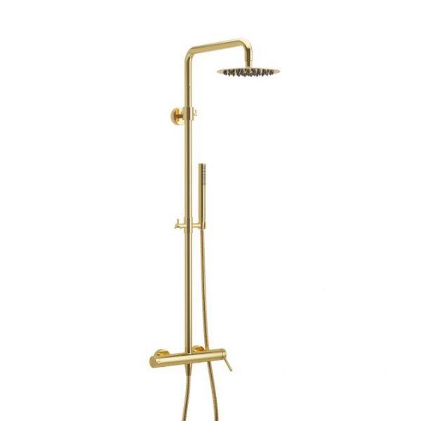 Zdjęcie Zestaw prysznicowy Excellent Pi złoty połysk AREX.1281GL