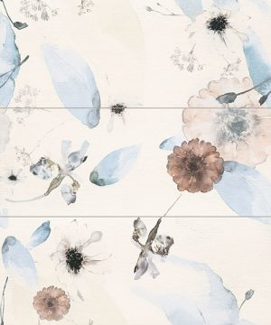 Płytka dekoracyjna 3 - elementowa Tubądzin Mild Garden 1 89,4x74,8 cm