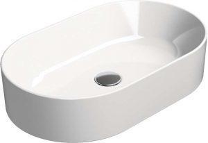 Umywalka nablatowa GSI Kubex 60x37 cm biały 945811
