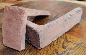 Narożnik Lico Kujawskie Industrialne  Stare Cegły - Płytki stylizowane na starą cegłę