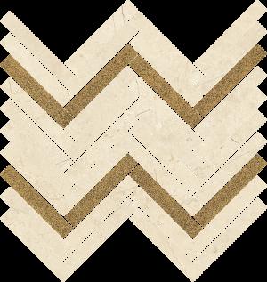 Mozaika ścienna Paradyż Sunrise Beige Mozaika Cięta Połysk 29.8 x 30.1 cm M-C-281X301-1-SUNR.BE
