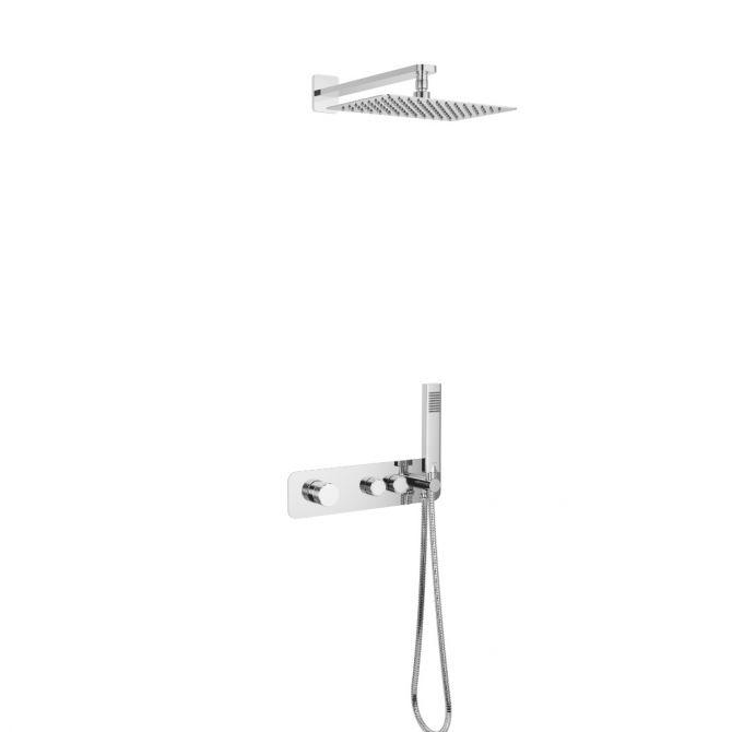 Zestaw prysznicowo-wannowy Excellent Krotos chrom AREX.SET.8035CR
