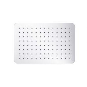 Deszczownica prysznicowa prostokąna Excellent Slim Soft 20x30 cm chrom AREX.3064CR