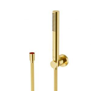 Zestaw prysznicowy ścienny Excellent Loka złoty AREX.SET.023GL