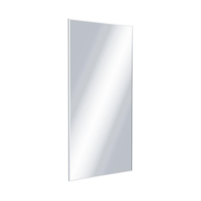 Lustro prostokątne Excellent Kuadro 100x50 biały mat DOEX.KU100.050.WH