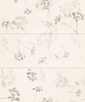 Płytka dekoracyjna 3 - elementowa Tubądzin Mild Garden 2 89,4x74,8 cm
