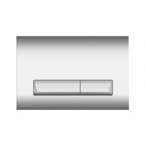 Przycisk spłukujący do WC Excellent Platto chrom INEX.PL230.150.CR
