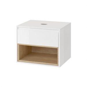 Szafka podumywalkowa Excellent Tuto 60 cm biały / dąb MLEX.0102.600.WHBL