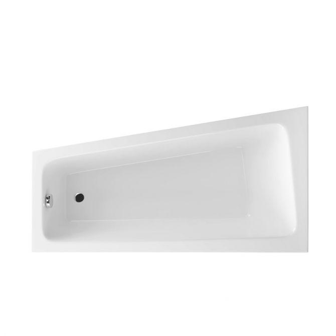 Wanna narożna asymetryczna lewa Excellent Ava Side 150×80,5 cm biały WAEX.AVL15WH
