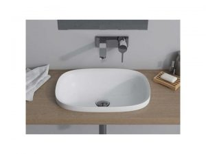 Umywalka wpuszczana w blat Marmite Noa 47x33 cm biały NOA0004 @