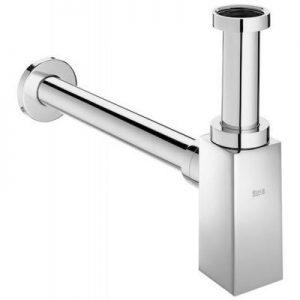 Syfon umywalkowy ozdobny kwadratowy 300 mm Roca Aqua chrom A506406500