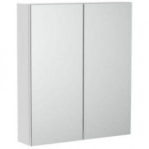 Szafka łazienkowa z lustrem Roca Luna 60 cm biały mat A857375472