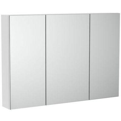 Szafka łazienkowa z lustrem Roca Luna 100 cm biały mat A857377472