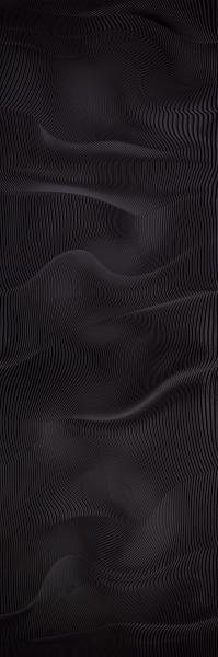 Płytka ścienna Paradyż Night Queen Black Połysk 39,8x119,8 cm