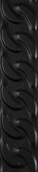 Listwa Paradyż Fashion Spirit Black  Struktura Mat 9x39,8 cm