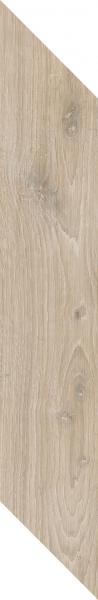 Płytka podłogowa Paradyż Heartwood Latte Chevron Lewy Mat 9,8x59,8 cm
