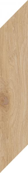 Płytka podłogowa Paradyż Heartwood Honey Chevron Prawy Mat 9,8x59,8 cm