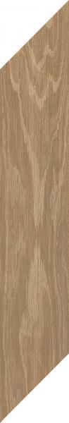 Płytka podłogowa Paradyż Heartwood Toffee Chevron Prawy Mat 9,8x59,8 cm